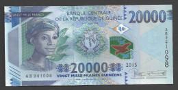 GUINEA (République De Guinée ) : 20000 Francs - 2015  UNC - Guinea
