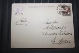 PP - VATICAN - Timbres Obliterations Sur Carte INGRESSO AL MUSEI DEL VIALE DELLE MURA VATICANE - Lettres & Documents