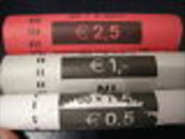 OLANDA PAYS-BAS ROTOLINI Da 50 Monete  X  1, 2 E 5 CENT 2006 : AFFARONE 150 Monete VALORE CATALOGO 550 EURO - Rotolini
