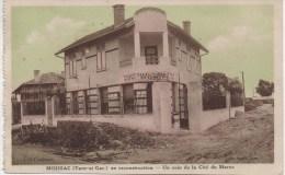 MOISSAC  EN RECONSTRUCTION  UN COIN DE LA CITE DU MAROC - Moissac