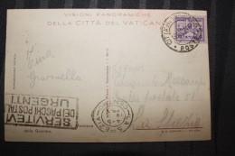 PP - VATICAN - Timbres Obliterations Sur Carte GIARDINI EDICOLA DELLA MADONNA - Lettres & Documents