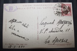 PP - VATICAN - Timbres Obliterations Sur Carte GIARDINI VIALE DEGLI ULIVI - Lettres & Documents