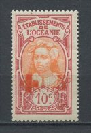 OCEANIE 1913 N° 25 * Neuf = MH Légère Trace De Charnière Cote 2,50 € Tahitienne - Oceania (1892-1958)