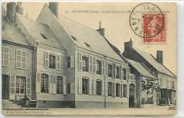 CPA 02 AUBENTON FACADE DE L´ANCIEN HÔTEL DUCHE DE GUISE N°16  EDIT.A.DIZY VOIR IMAGES - Autres Communes