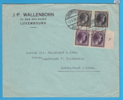 LUXEMBOURG 1936, LETTER SENT TO LUDWUGSLUST, GERMANY, 2. 6. 1936 LUXEMBOURG, See Scans - Luxembourg