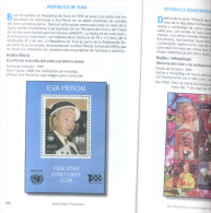 EVA PERON EN EL COLECCIONISMO - FILATELIA Y NUMISMATICA - JOSE CAMPOY FERNANDEZ PRIMERA EDICION DEL AUTOR AÑO 2015, 144 - Boeken & Software