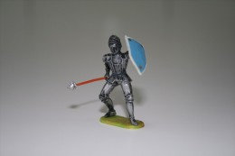 Elastolin, Lineol Hauser, H=40mm, Knight,  Plastic - Vintage Toy Soldier - Figurines