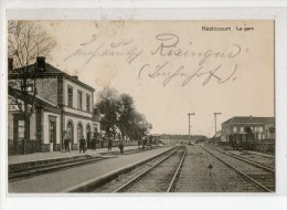 57-3884 RECHICOURT Gare - Rechicourt Le Chateau