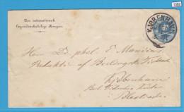 DANMARK, KJOBNHAVN, LETTER SENT ON 30. 11. 1854, ANOTHER CANCEL 1T BACK, 1. 12. 1854, See Scans - Lettres & Documents