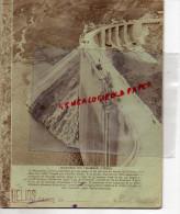 38 - BARRAGE DU CHAMBON - CAHIER ECOLE- LUCIE ARDELLIER  CHATEAUPONSAC-1936- LA VICLAIRE USINE HYDRO ELECTRIQUE - Buvards, Protège-cahiers Illustrés