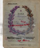 87 - CHATEAUPONSAC - PROTEGE CAHIER ECOLE DIRIGEE PAR MME DELAGE- 1935-LUCIE ARDELLIER- LIBRAIRIE SAINT MARTIN A GUERET - Buvards, Protège-cahiers Illustrés