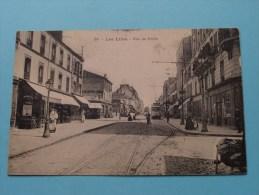 Les LILAS ( 28 ) Rue De PARIS ( Tram ) - Anno 1911 ( Zie Foto Voor Details ) !!