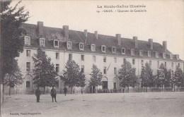 70 Série La Haute Saône Illustrée GRAY Cour De La CASERNE SOLDATS Drapeau QUARTIER De CAVALERIE 1917 - Gray