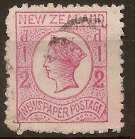 NZ 1873 1/2d QV Rose SG 151 U #QM218 - 1855-1907 Crown Colony