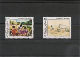 NOUVELLE CALÉDONIE Année 1991 P.A.  N°Y/T :278/279** Côte : 17,00 € - Poste Aérienne
