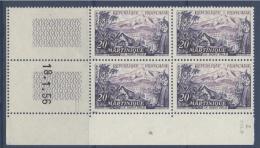 N° 1041 Martinique 20f - Date 18-01-56 - 1950-1959