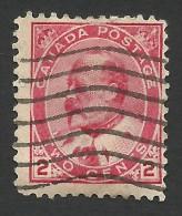 Canada, 2 c. 1903, Scott # 90, used