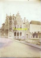 ANCIENNE PHOTO ALBUMINE EPREUVE POUR CPA  HAL HALLE LA POSTE - Halle