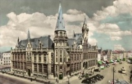 Belgio - Cartolina Antica GENT, POST EN KORENMARKT 1959 - L55 - Gent