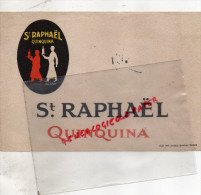 75003 - 75- PARIS- 8 RUE PARC ROYAL- BUVARD SAINT RAPHAEL QUINQUINA- IMPRIMERIE JULES SIMON PARIS - Buvards, Protège-cahiers Illustrés