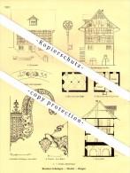 Photographien / Ansichten , 1927 , Marthalen , Thalwil , Horgen , Binziken , Grüningen , Prospekt , Architektur , Fotos - ZH Zürich