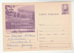 1968 ROMANIA Illus  SOVATA Postal STATIONERY CARD Cover Stamps - Postal Stationery