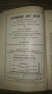 Revue Cahiers Du Sud N°332 Poètes Baroques Italiens Italie  Poèsie Littérature 1955 - Bücher, Zeitschriften, Comics