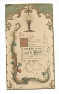IMAGE PIEUSE.. édit. Blanchard N 2098.. Communion Louise RUELLAN, 30 Juin 1897 - Images Religieuses