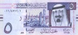 ARABIA   SAUDI    5   RIYALS   2.007       PLANCHA/UNC/SC     DL-6309 A - Arabia Saudita