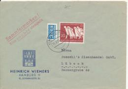 Germany Cover Hamburg 13-9-1955 - [7] Federal Republic