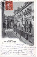 CPA - GENEVE - HOTEL DU GRAND ST BERNARD - RIVE - 8 RUE DE LA TOUR MAITRESSE - GE Genève