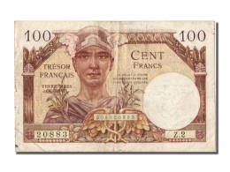 100 Francs Type Trésor Français - Treasury