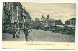 S-Hertogenbosch - Groote Markt Ca 1910 - 's-Hertogenbosch
