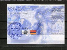 2653 IRC IAS CRI - International Reply Coupon - Antwortschein T35 Mit Stempel Armenie Armenien AM20100114AA - Armenia