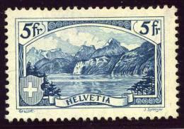 5F Le Rütli, 280 (*) Neuf Sans Gomme, (Zum 275), Cote 150 € Si * - Switzerland