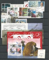 2009 MNH Greenland, Year Complete According To Michel, Except Self Adhesive - Groenlandia