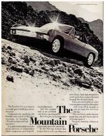 VW PORSCHE 914 PUBLICITE ISSUE D´UN MAGAZINE 1972 FORMAT 21 X 28 USA - Publicités