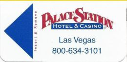 Palace Station Casino Las Vegas Hotel Room Key Card - Hotel Keycards