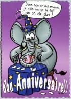 L'Éléphant - Dessin De K-YO (Caillot) - Bon Anniversaire !! - Illustrators & Photographers