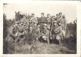 MILITAIRES TRES ARNACHES 9X6,5cm - Guerre, Militaire