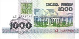 Belarus - Pick 11 - 1000 Rublei 1992 - Unc