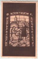 Gistel, Ghistel, Adbij Ten Putte, Brandvenster, Verschijning Van Ste Godelieve Aan Bertolf's Knecht (pk26061) - Gistel