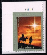US #4813 Holy Family And Donkey; MNH Plate # Single (0.95) - Unused Stamps