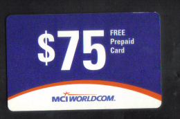 U.S.A.  - PHONECARD MINT - Phonecards