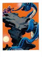 1965 Space Sci - Fi EDIZIONI MARTE - ROMA SERIE FANTASCIENZA CARD # 312 - Monster In Hydra - Chromo