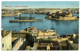 MALTA : GRAND HARBOUR - Malta