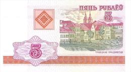 Belarus - Pick 22 - 5 Rublei 2000 - Unc