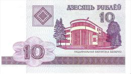 Belarus - Pick 23 - 10 Rublei 2000 - Unc - Bielorussia