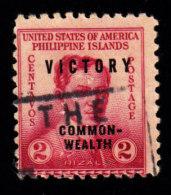 "PHILIPPINES - Scott #485 Jos� Rizal ""Overprinted"" (*) / Used Stamp"