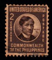 PHILIPPINES - Scott #497 Jos� Rizal (*) / Used Stamp